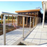 Buy cheap Outdoor Metal Stair Railing, Prices of stainless steel balcony railing from wholesalers