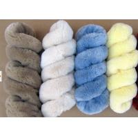 Quality Lambskin Long Wool Sheepskin Steering Wheel Cover For Car Interior Accessories wholesale