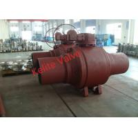 Quality Fire Safety Welded Body Ball Valve Forging Material Extended Bonnet wholesale