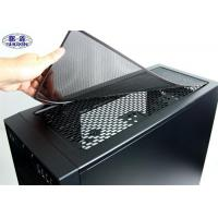 Quality Powder Coated Computer Case Dust Filter SX-SFM01 Black Cover Mesh Screen wholesale