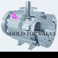 Quality API 6D Split Body Side Entry Ball Valve Trunnion Mounted Double Block and Bleed RF RTJ  SS CS ASME B16.34 wholesale