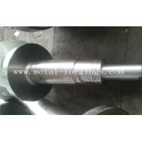 Quality 4140 34CrNiMo6 4340 Alloy Steel Metal Forgings Shaft Blank Rough Machined For Wind Power Industry wholesale