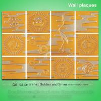 Quality Antique PU wall plaques for home decoration wholesale