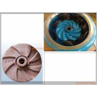 Quality High Effcient Cast Process Mining Slurry Pump Impeller Corrosion Resisting wholesale