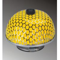 Quality Yellow Racing Car Activated Carbon Air Filter High - Flow , 1 Year Warranty wholesale