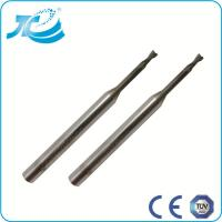 China Carbide Flat End Mill for Deeper Cutting , 1mm 2mm 3mm End Mill on sale