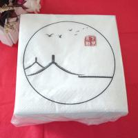 China Wedding Dining Table Napkins , 25*25 cm Disposable Dinner Napkins Party on sale