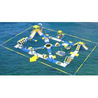 Buy cheap Lake Inflatable Water Games For Adults / Bouncia Water Inflatable Park from wholesalers