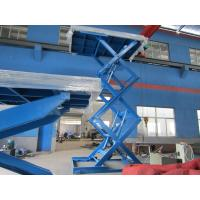 China Extension Platform Static Scissor Lift Vertical Lifting From Ground To Other Levels on sale