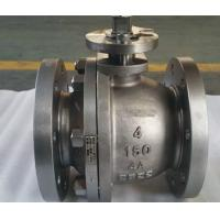 Quality Two Piece Cast Steel Floating Low Pressure Ball Valve wholesale