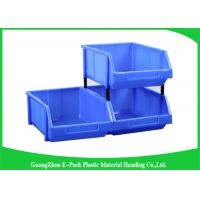 Standard Size Industrial Storage Totes , Antistatic Stackable Storage Boxes