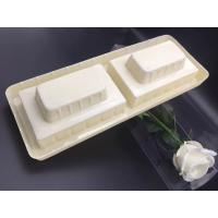 Cheap plastic blocking blister packaging tray 12*32.3*5cm for packaging wine bottle for sale