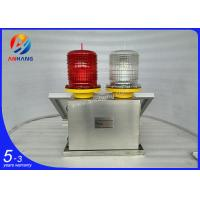 Quality AH-MS/R ICAO type Medium intensity Led Solar signal Tower Obstruction Light/ airport lights wholesale