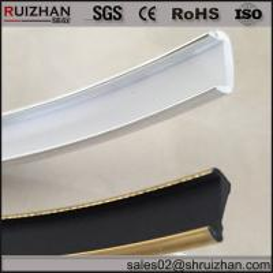 Buy cheap U molding trim strip U shapled strip U channel plastic from wholesalers