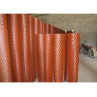 Quality EMW Medium Expanded Metal Mesh Sheet For Highway Fencing Rhombus Hole wholesale
