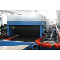 China Blue Automatic PU Sandwich Panel Machine Polyurethane Sandwich Panel Line on sale