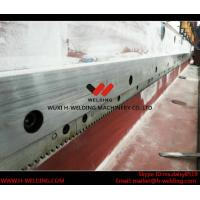 Cheap Steel Plate Edge Large Milling Machine With Taiwan E-long Milling Heads 7.5kw for sale