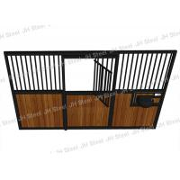 Quality Hdpe Infilled Temporary Horse Steel Stall , 12 Foot Horse Stall Fronts wholesale