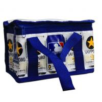 Quality Navy Zipper Thermal Insulated Bags Aluminum Foil CMYK Printing Lunch cooler bag wholesale