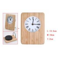 Quality Bamboo Electronic Clock D8002 wholesale