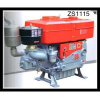 Quality Horizontal 4 Stroke single cylinder diesel engine High Duty Combined Pressure & Splashing wholesale