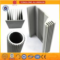 Quality Silver White Industrial Powder Coated Aluminium Extrusions Heat Insulation wholesale