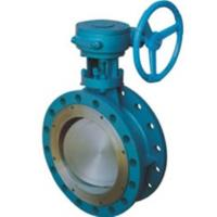 Quality CS SS Dual Eccentric Butterfly Valve / Double Offset Butterfly Valve wholesale