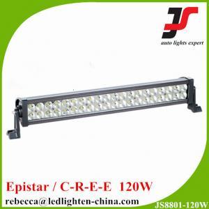 China LED trailer lighting 12V 120w double row LED light bar with super quality on sale