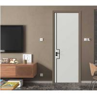 Quality 1200mm Maximum Width Interior Home Doors With Stainless Steel Slots ISO9001 wholesale