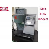 Quality High Precision Melt Flow Index Tester For Melt Mass Flow Rate/  Melt Volume Flow Rate wholesale