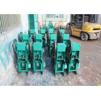 China Steel Wire Straightening And Cutting Machine 1400R/Min Rotated Speed For Coiled Bar on sale