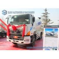 Quality 9 Cubic Meters Concrete Mixer Truck 350Hp HINO 700 LHD Foldable Chute wholesale