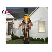 Quality 3 M Airblown Halloween Outdoor Decorations Inflatable Ghost Pumpkin Man wholesale