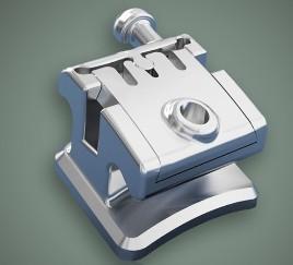 Quality Dental Orthodontic Instruments Metal Self - Ligating Bracket wholesale