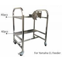 China Storage Cart SMT Feeder Trolley Aluminum Alloy SS Matieral For Yamaha YV Machine on sale