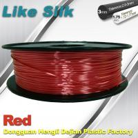 Quality Imitation Silk Filament Polymer Composites 3d Printer Abs Filament Red Color wholesale