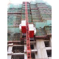 Quality 500kg Counter Weight Double Cage Construction Passenger Hoist for Passenger and Goods wholesale