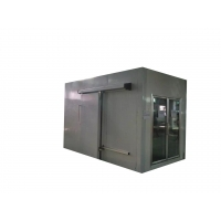 China 304 Stainless Steel Walk In Coldroom White Colorbond Fish Cold Room on sale