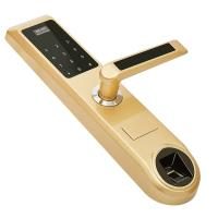Quality Smart Fingerprint Password Lock With Super C Lock Core , IC Card Electronic Door Locks wholesale