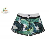 Quality Beachwear Plus Size Womens Board Shorts Short Length Microfiber Fabric wholesale