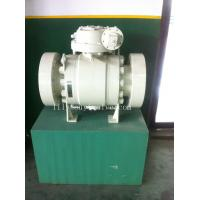 China A105 Gear Box Flanged Trunnion Ball Valve For Oil Industry DN150 on sale