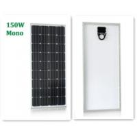 China Durable Roof Mounted Solar Panels For House, 150W Mono Solar Panel 1480*680*35mm on sale