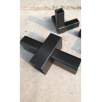 China carbon fiber square /rectangle /oblong/quadrate tube  for building frame  with carbon fiber connectors/joints on sale