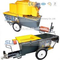 Quality 4m3 / H Mortar Spraying Machine Exterior Wall Plastering Pumping Delivery 30m For Building wholesale