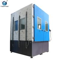 Cheap IEC-60529 Standard Photovotaic panel IP66 Walk-in Dust Test Chamber for sale