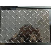 Quality Customized Diamond Aluminum Sheet Industrial Aluminum Checkered Plate For Boat Lift wholesale