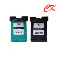 Quality HP92 / HP93 ink  cartridge for HP PSC 1507/HP PSC 1510/HP PSC 1510s wholesale