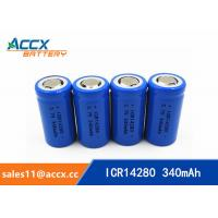 Quality high quality icr14280 LED Lighting lithium battery 3.7V 340mAh 14280 rechargeable li-ion battery wholesale