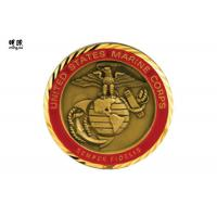 Quality Collectable Us Air Force Challenge Coins , Modern Commemorative Gold Coins wholesale