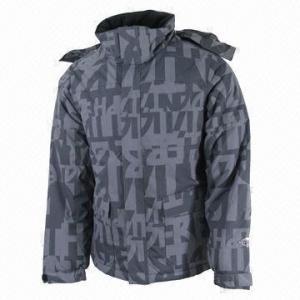 Quality Men's Ski Jacket, Waterproof and Breathable, Denim-look Fabric wholesale